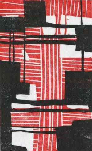 Wayfarer Block Print