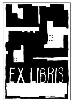 Wayfarer Ex Libris Book Plate